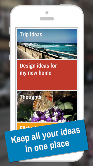 IDEAZ - Keep your ideas in one place Screenshot