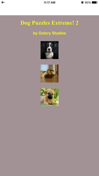 Dog Puzzles Extreme! 2 Screenshot on iOS