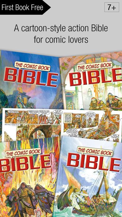 Bible Comic Book App – 4 Action Bible Books