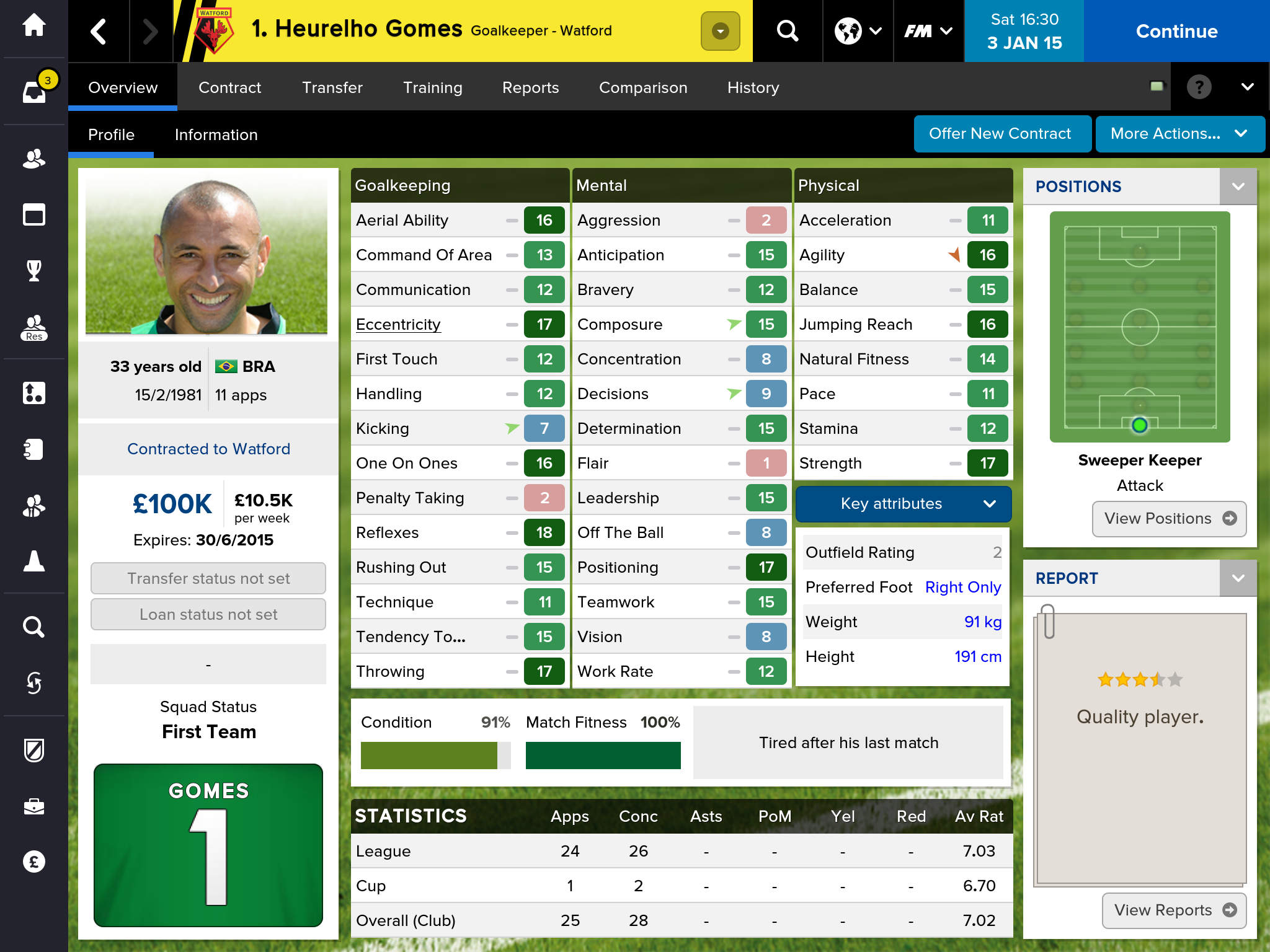 Football Manager™ Classic 2015 screenshot-3