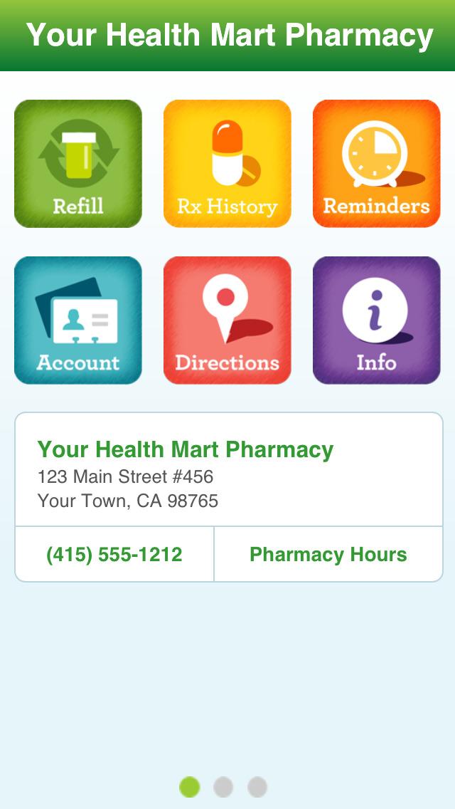Health Mart Screenshot on iOS