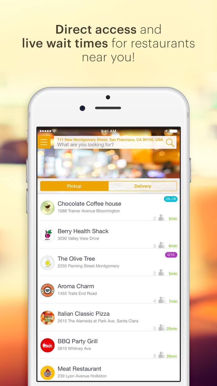 Tapingo - Mobile Food Ordering on Campus Screenshot