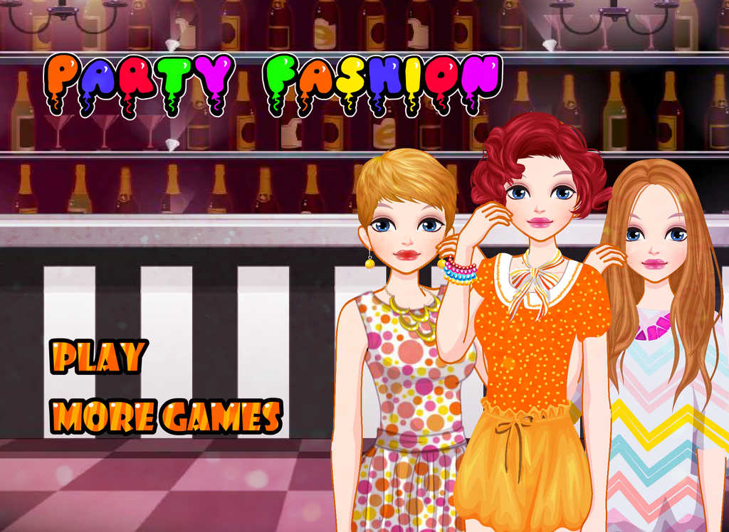Dress Up And Make Up Game For