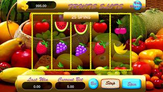 A Amazing Fruit Slots Screenshot on iOS