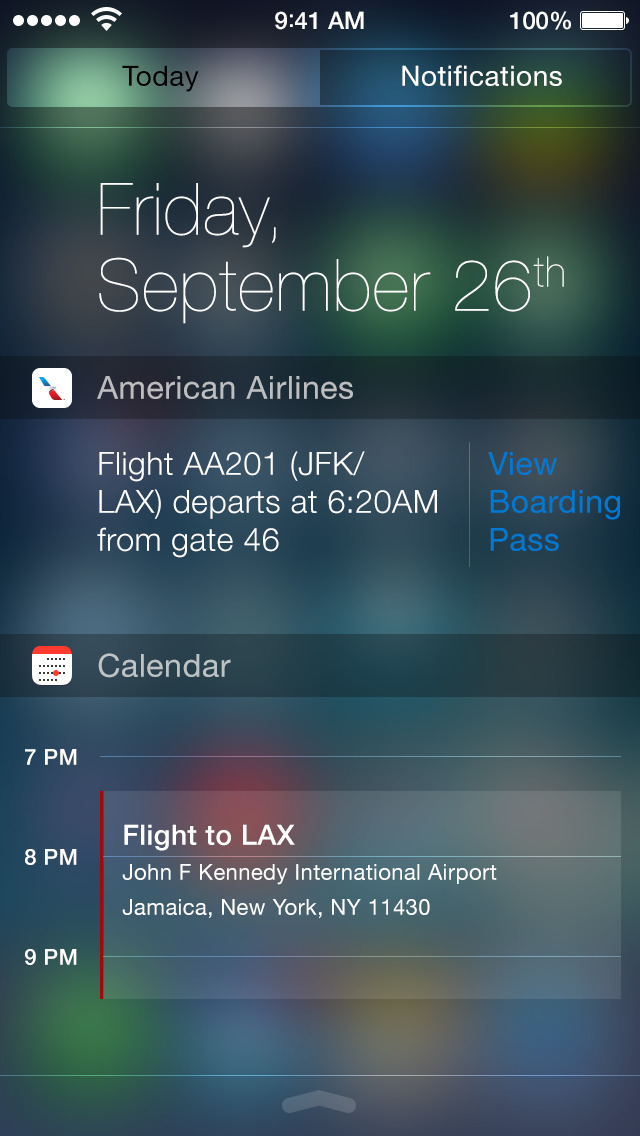 american airlines ios 6