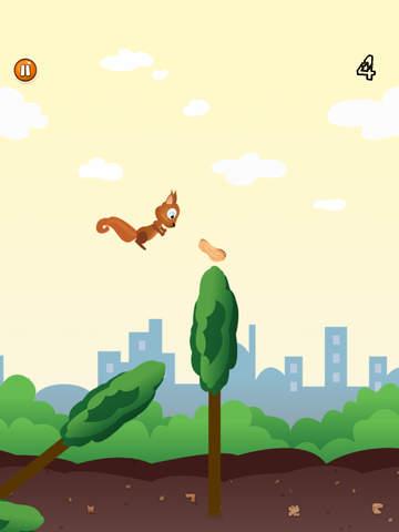 Skippy Skip - Make Them Squirrels Jump-ipad-2