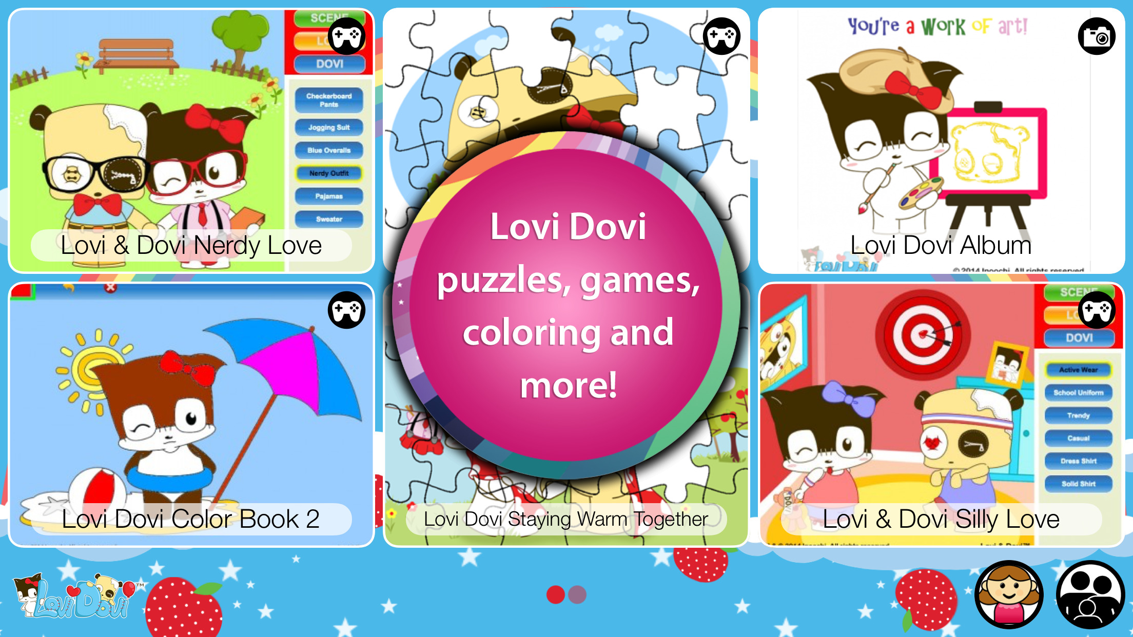 Lovi Dovi - Cute Love and Happiness by Inoochi