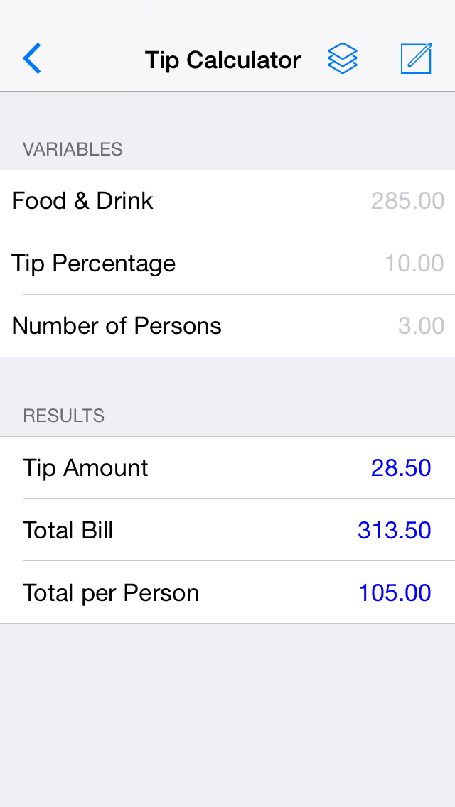 Make A Calc - Build Your Own Calculators | iPhone Finance apps | by