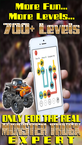 Match the Crazy Monster Trucks - Awesome Fun Puzzle Pair Up for Little Kids Screenshot on iOS