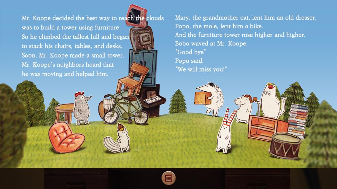 Mr. Koope the hedgehog - Children's story book screenshot-3