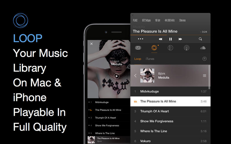 VOX: Music Player & SoundCloud Streamer Screenshot
