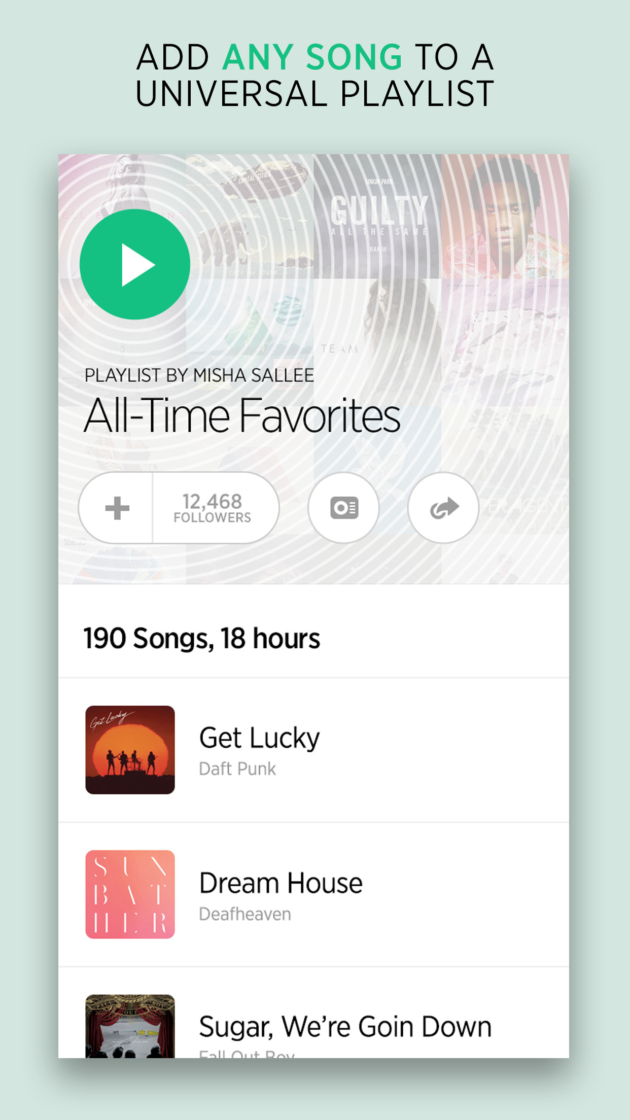bop.fm Music Player screenshot-1