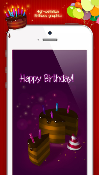 happy birthday apps for iphone