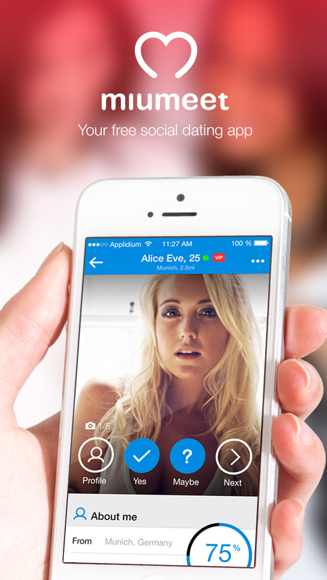 Free iphone dating apps
