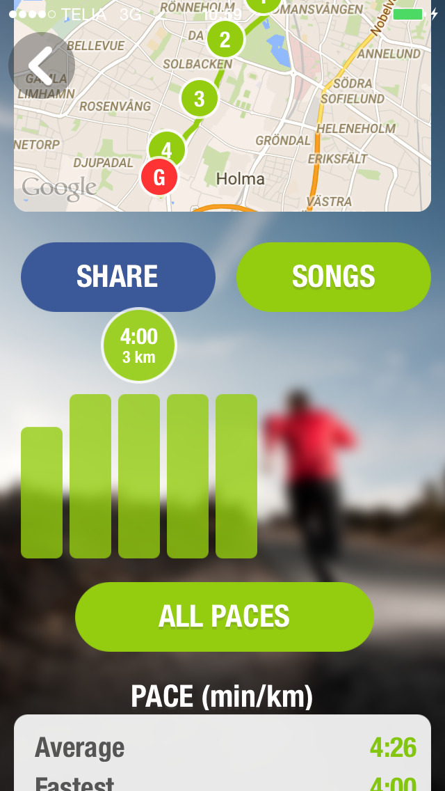 Runify - Workout with music, Interval-timer, GPS Running, HIIT