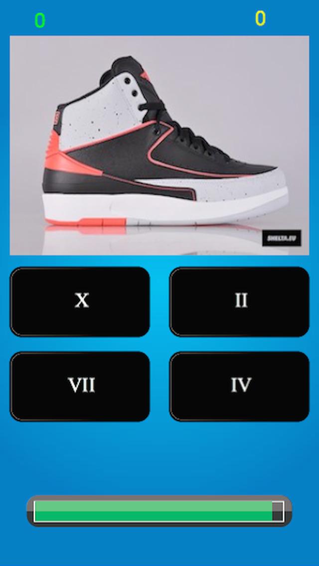 Jordan Shoe Game Quiz