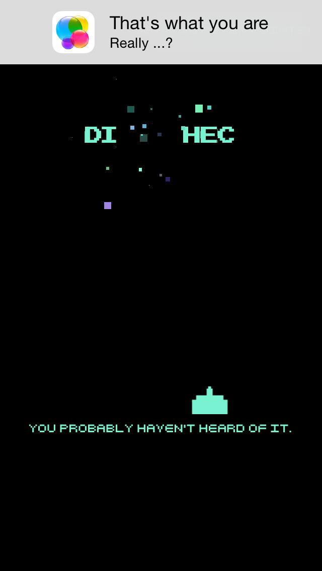 Hipstercade Screenshot on iOS