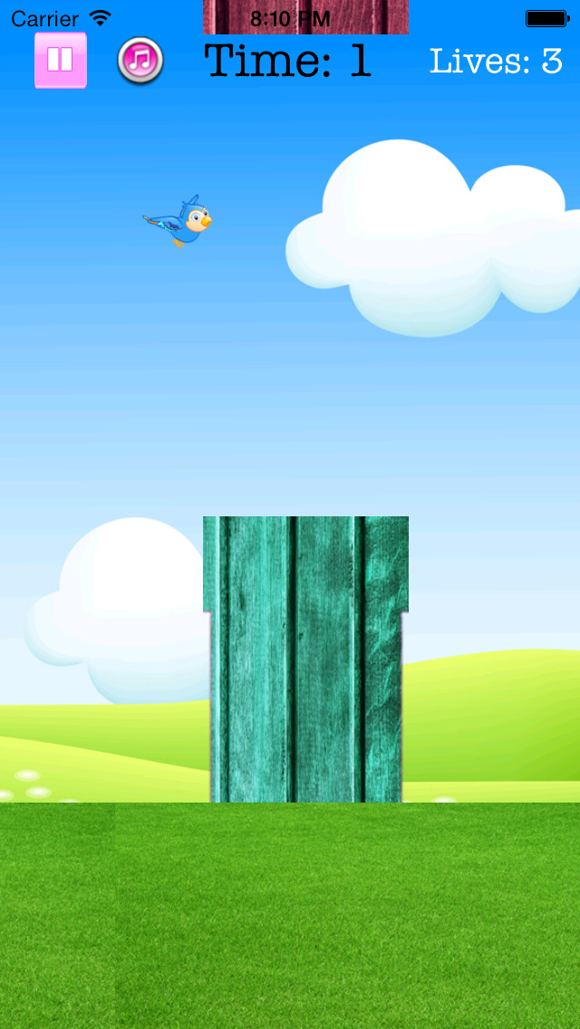 Fly Birdie - One touch branch jump screenshot-4