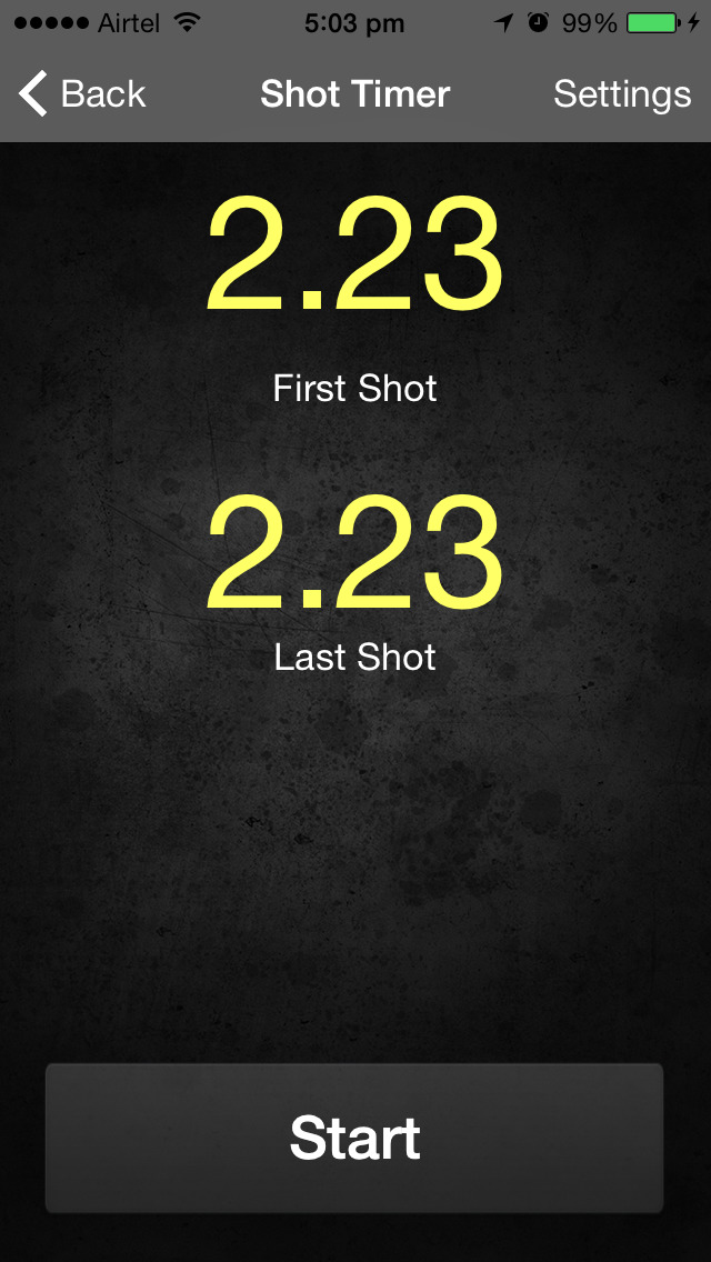 Shot Timer App Iphone