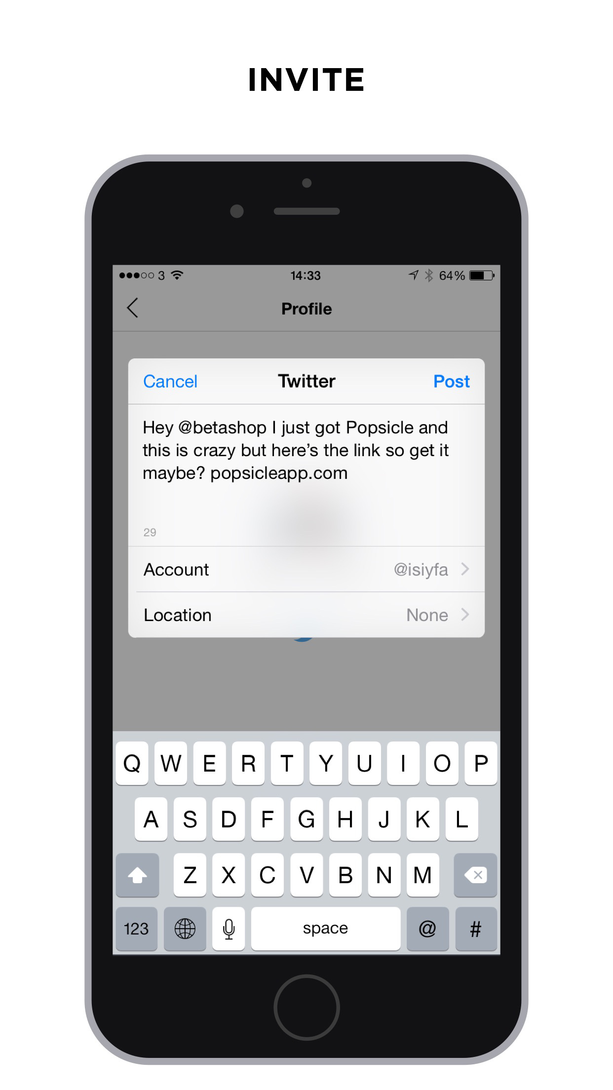 Popsicle - Chat with your Twitter friends screenshot-3