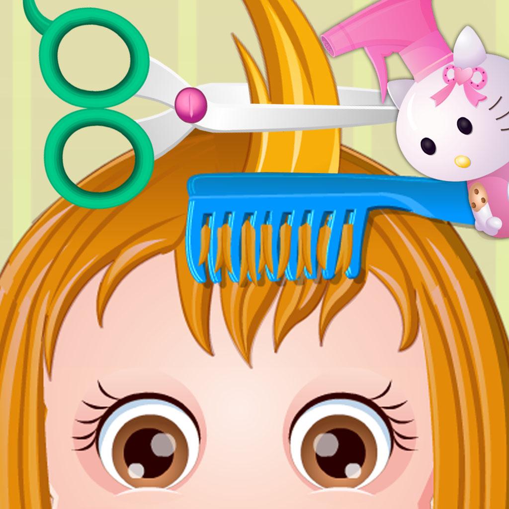 baby hair salon dress up bath wash face kids game revenue
