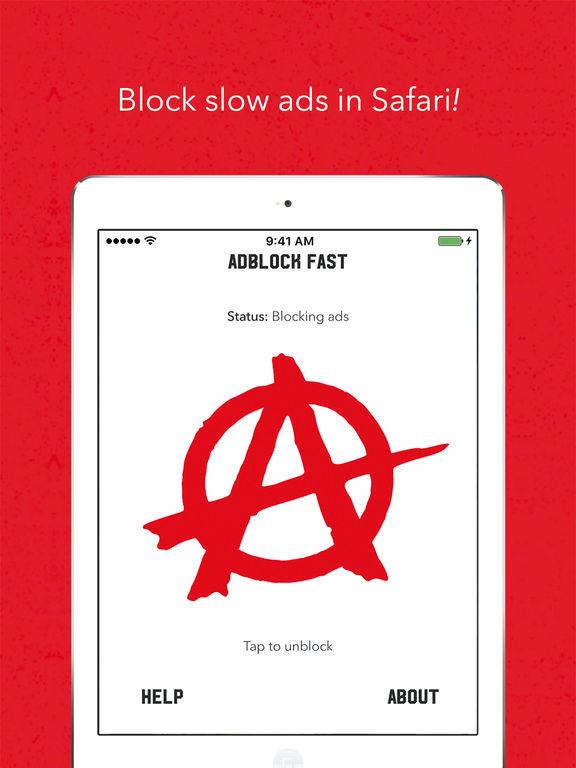 Adblock Fast Screenshot