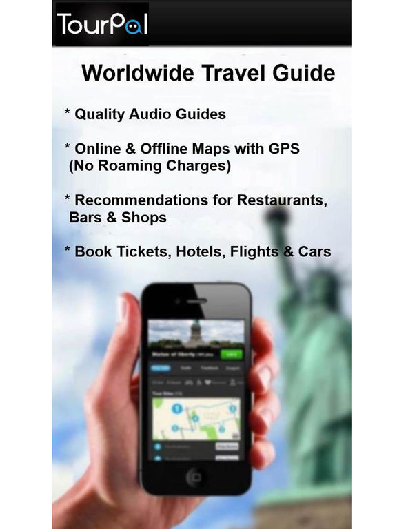 TourPal Travel Guide, Audio Tours & Tour Planner - appPicker on map wedding, map travel, map project,