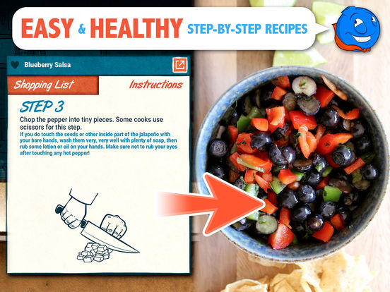 Veggie Bottoms Kitchen – The Fun Kids Cookbook Screenshots
