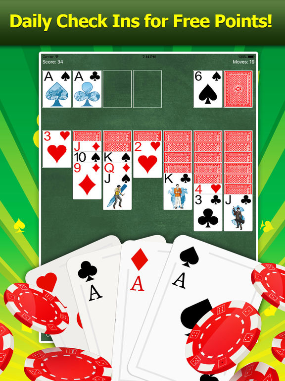 Reward App Solitaire - Gifts and Cash!-ipad-2