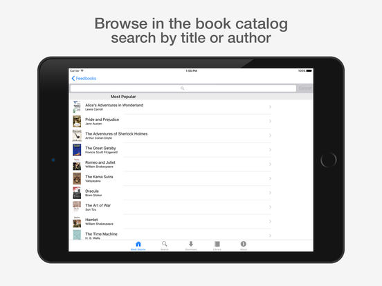 eBook Library Pro - search & get books for iPhone Screenshots