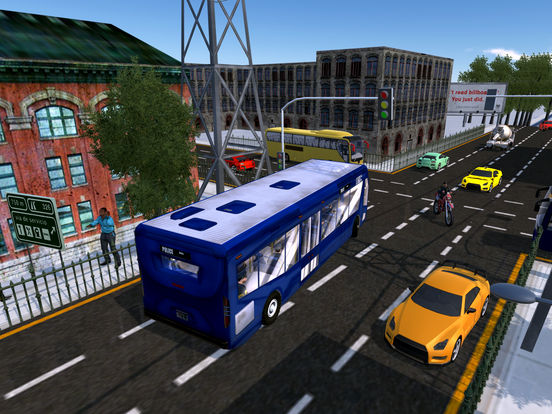 Police Bus City Transporter 3D-ipad-3