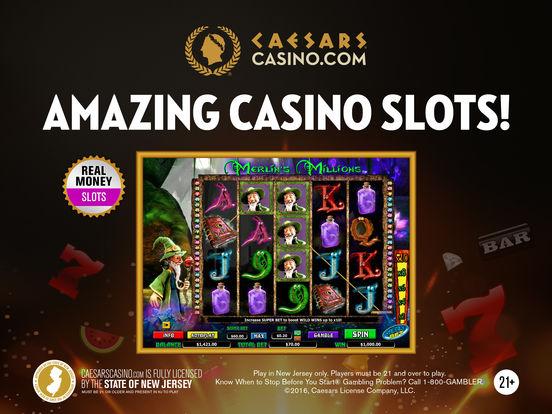 caesars casino app real money
