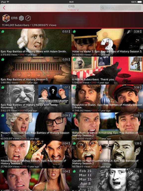 ProTube for YouTube Screenshots