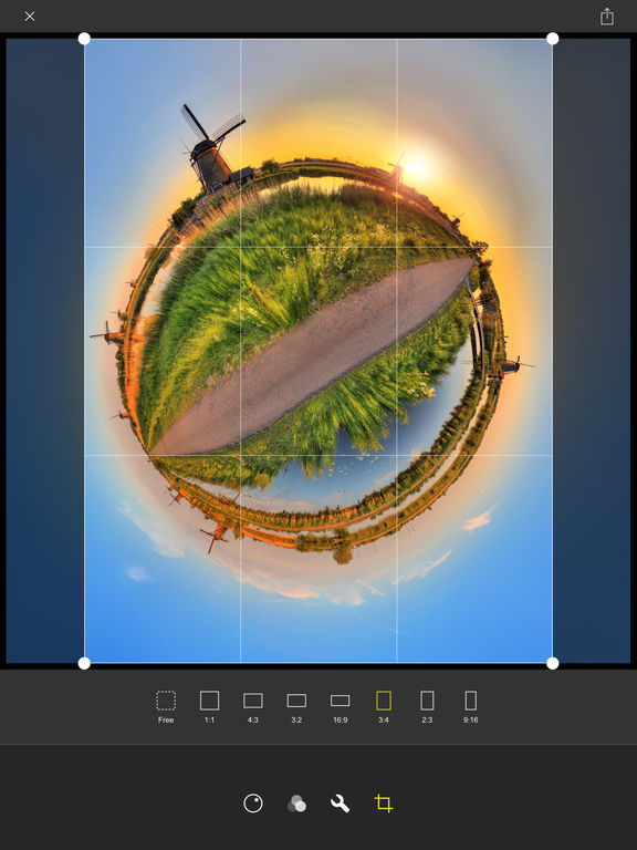 Living Planet - Tiny Planet Videos and Photos Screenshot