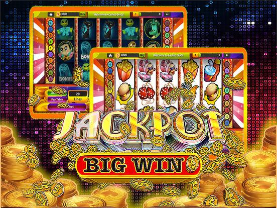 Spot slot machine