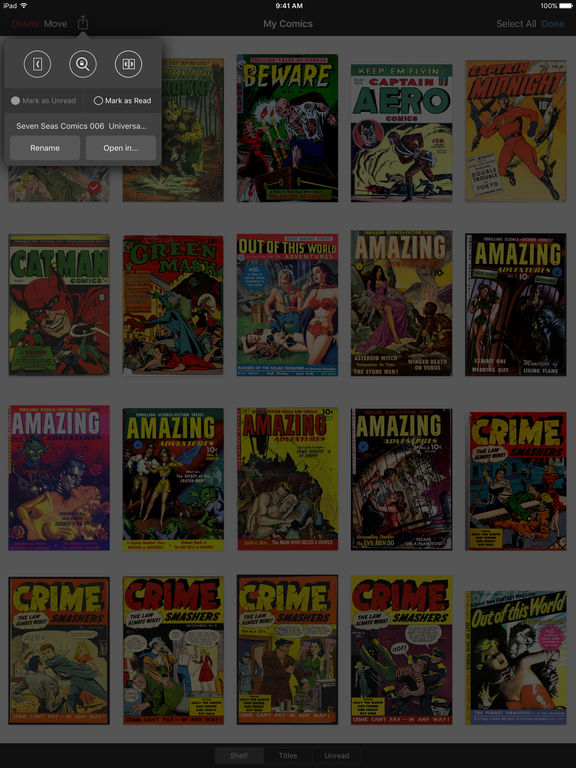 The best iPhone apps for comic books - appPicker