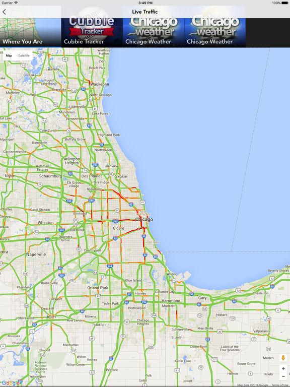 Chicago Traffic Tracker Apprecs