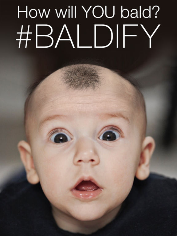 Baldify - Go Bald Screenshot