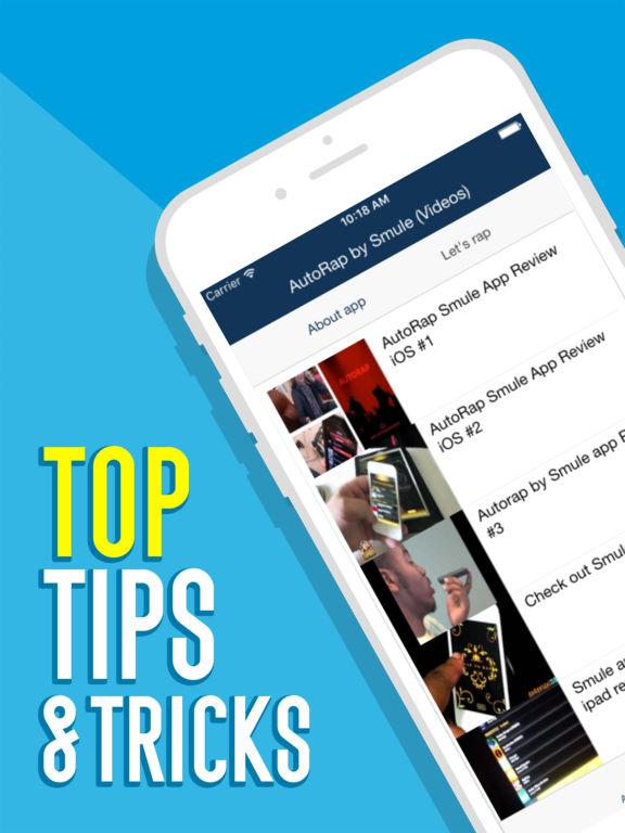 Videos for AutoRap by Smule iOS Application Version 1 0