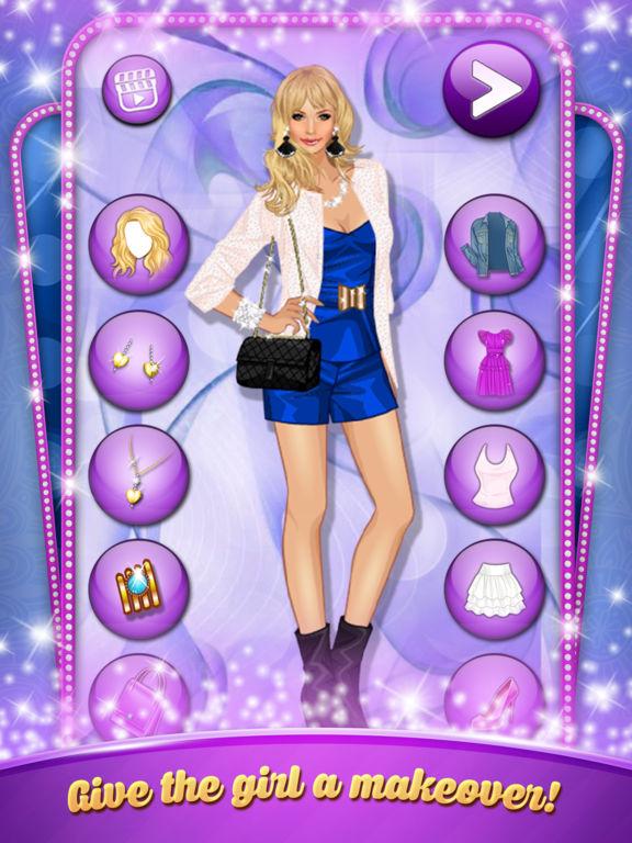 Barbie Online Games Pretty Barbie Video Dress Up Game ...  |Pretty Girl Fashion Game