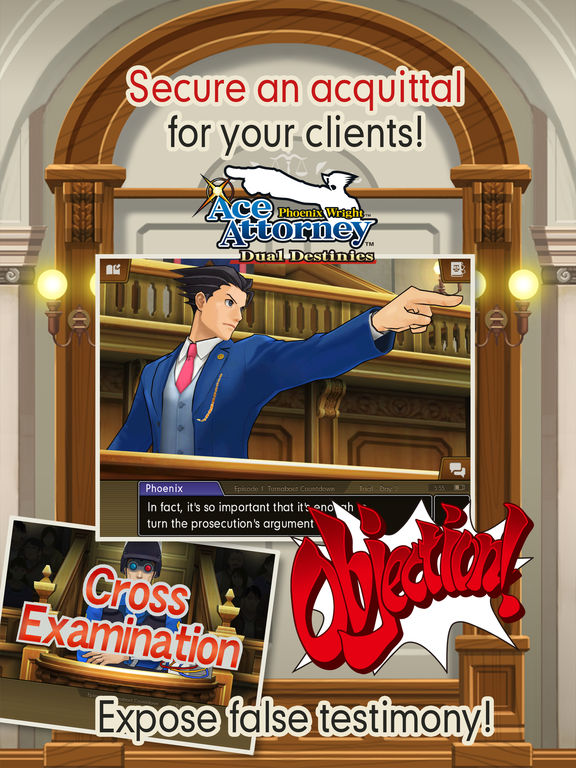 Phoenix Wright: Ace Attorney – Dual Destinies Screenshot