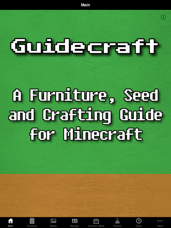 Best Minecraft Crafting Guide App