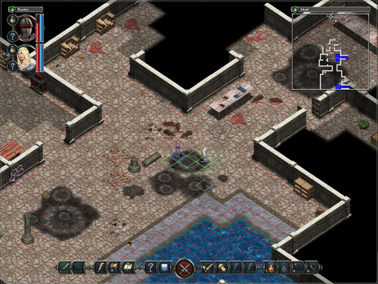 Avadon: The Black Fortress HD Screenshot