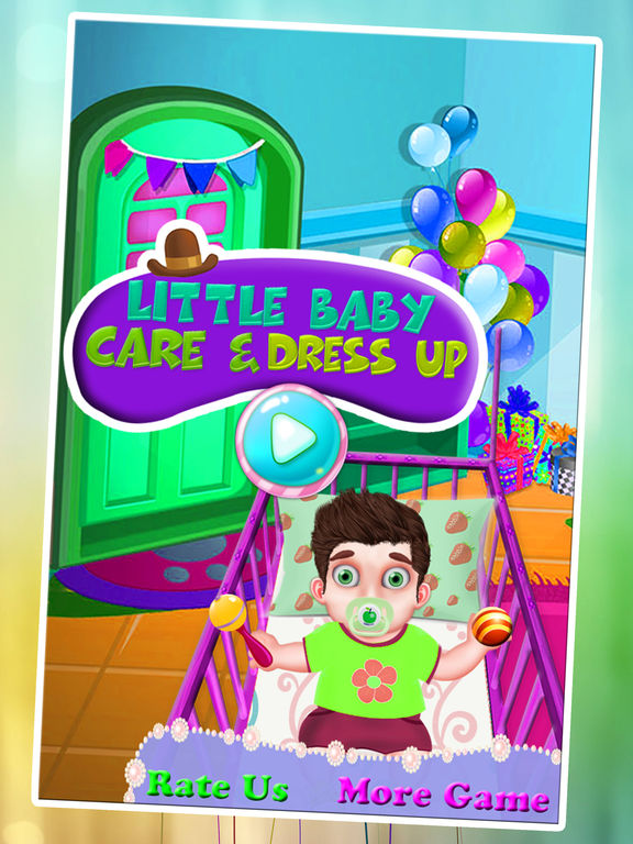 Baby Bedroom Dress Up Games: App Shopper: Little Baby Care & Dress Up