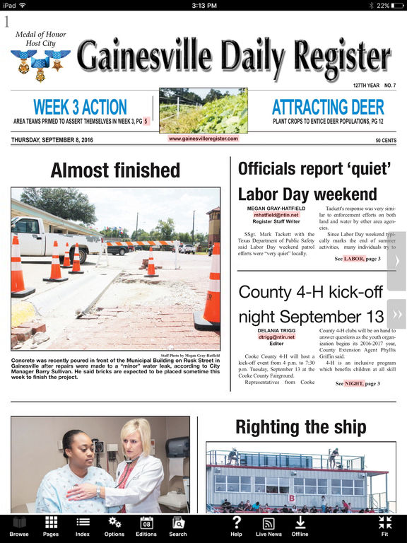 Gainesville Daily Register on the App Store