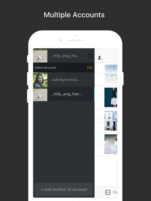 Grab for Instagram — Your Instagram Companion Screenshot