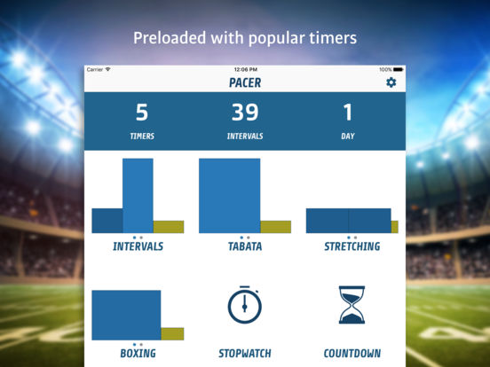Pacer - Smart Fitness Timer Screenshot