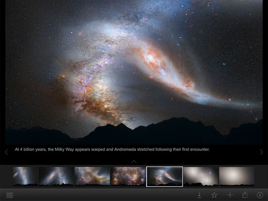 NASA Visualization Explorer Screenshot