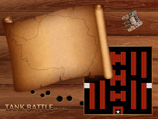 Tank Battle - Mini War ( Classic Style Shooter ) Screenshot