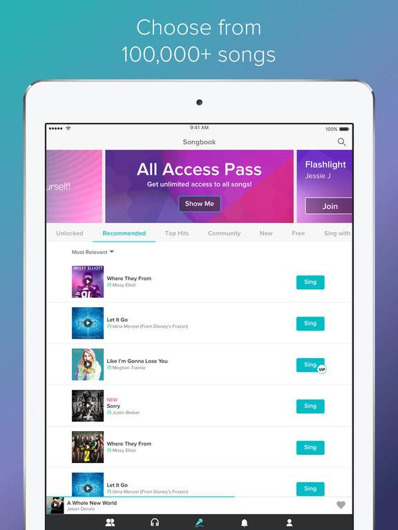 🔥 Sing karaoke Smule Cracked IPA For iOS [MOD iPhone IPA